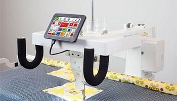 Husqvarna Viking Platinum 3000 Longarm Quilting Machine