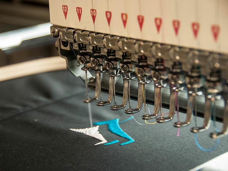 Embroidery Machine Stitching