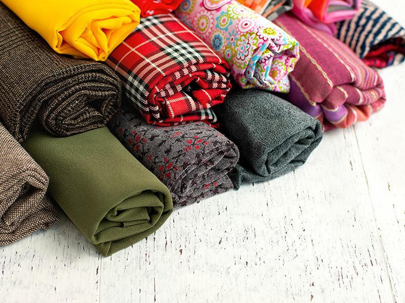 Fabrics Piled Rolls