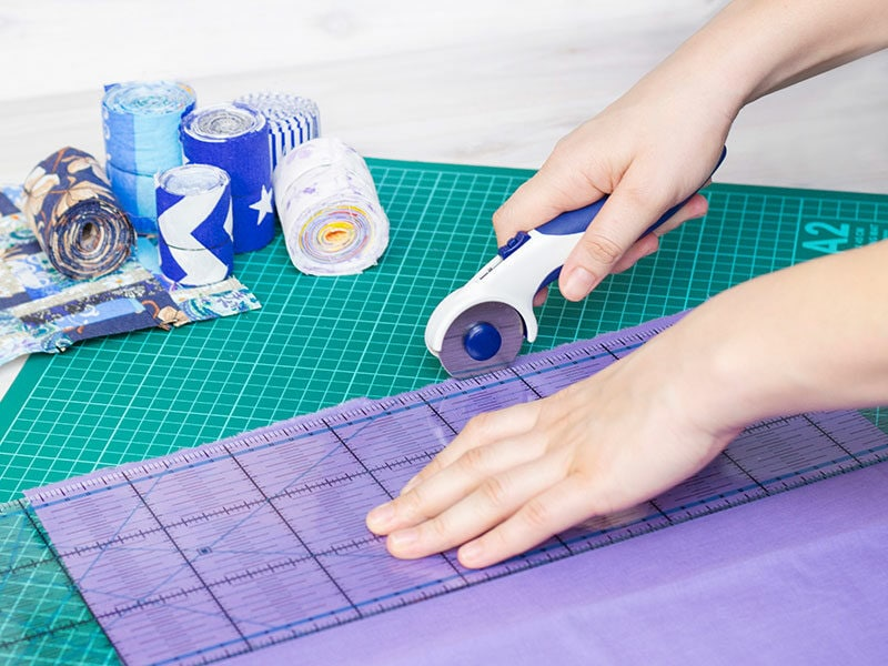 Hand Cuts Fabric