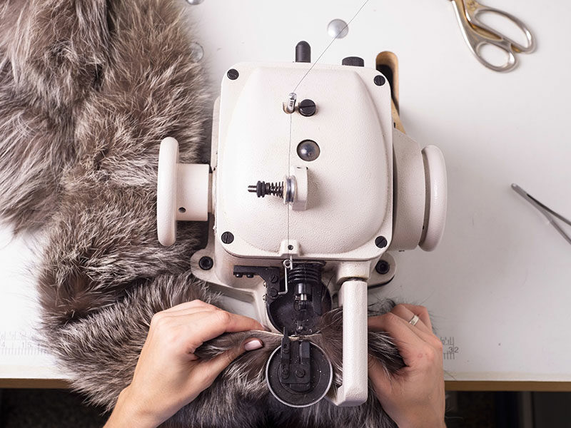 Sewing Faux Fur